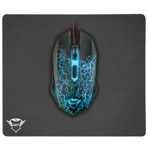Mouse y Mouse Pad Trust Gaming Gxt 783