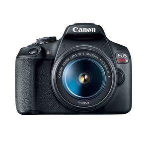 Canon Video cámara EOS Rebel T7 DSLR lente 18-55mm