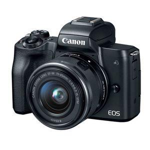 Canon EOS M50 Kit de cámara Mirrorless Vlogging  y lente EF-M 15-45mm