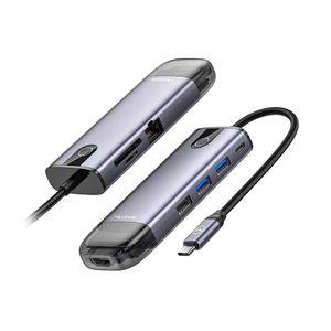 Mcdodo HUB usb tipo C 8 en 1 HDMI 4K 60 Hz