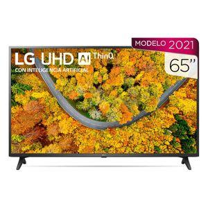 """Pantalla 65"""" LG UHD 4K Smart TV AI ThinQ 4K 65UP7500PSF"""