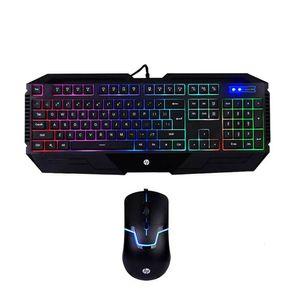 HP GK1100 Teclado Gaming alámbrico en inglés + mouse