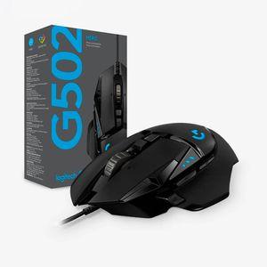 Logitech G502 Hero Mouse Gamer alambrico de alto desempeño