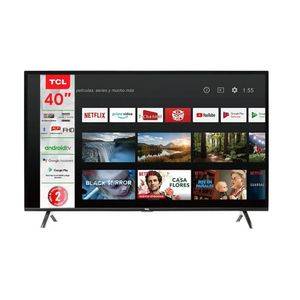 Pantalla LED TCL 40 Pulgadas FHD Smart 40A325 Android TV