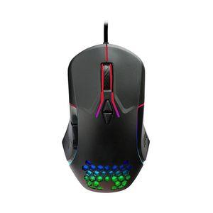 Nextep Mouse Gamer Iluminado RGB 6400 DPI 6 Botones Base Metálica Dragón XT NE-480P