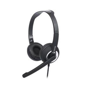 Nextep Audífonos de diadema con micrófono y usb NE-425