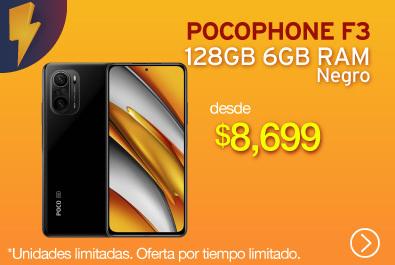 Xiaomi Pocophone F3 128GB 6GB Negro