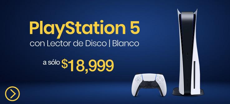 consola PlayStation 5 lector de disco doto mexico caracteristicas