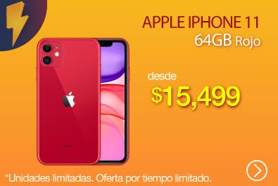 Apple iPhone 11 64GB - Rojo