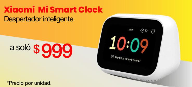Xiaomi Despertador inteligente Mi Smart Clock Blanco