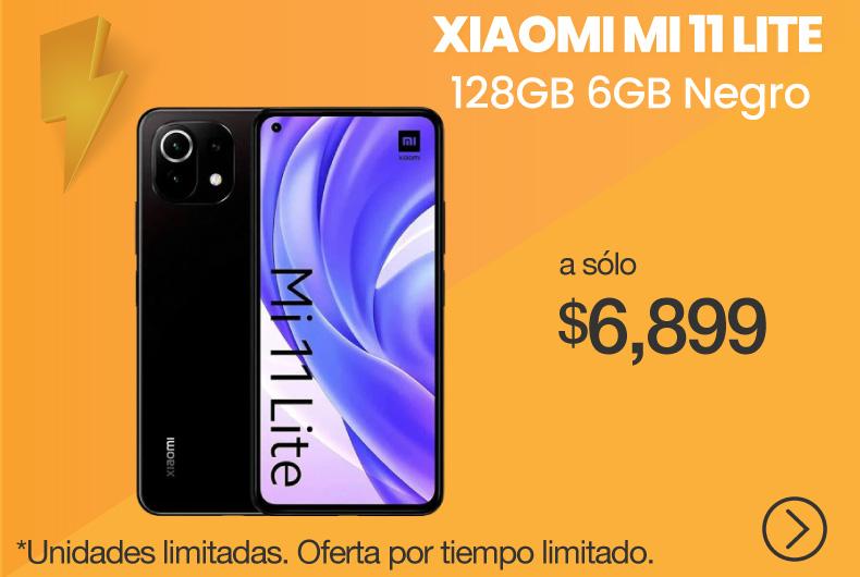 Xiaomi Mi 11 Lite 128GB 6GB Negro