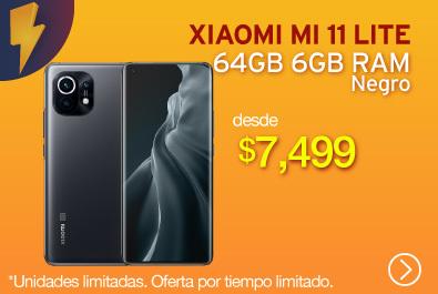 Xiaomi Mi 11 Lite 64GB 6GB Negro