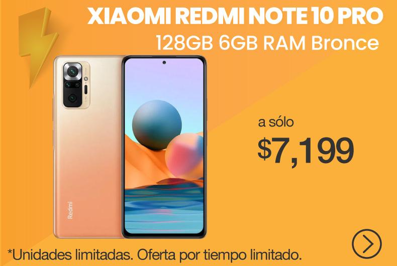 Xiaomi Redmi Note 10 Pro 128GB 6GB Bronce