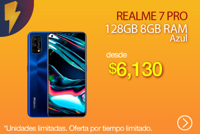 Realme 7 Pro 128GB 8GB Azul