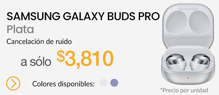Samsung Galaxy Buds Pro Plata