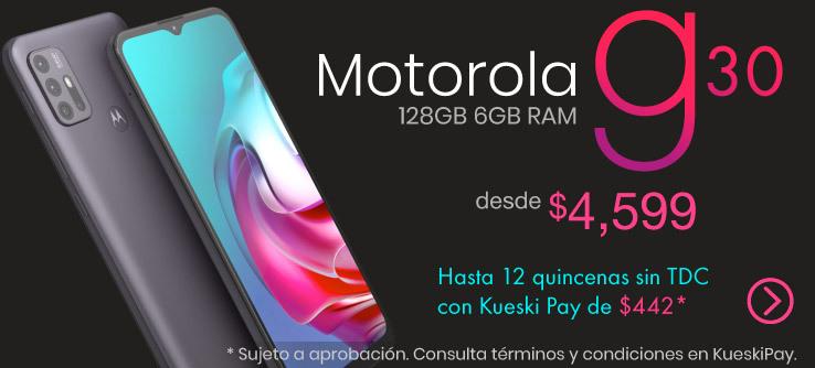 Motorola G30 128GB 6GB Negro